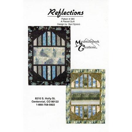 reflections quilt pattern mountainpeek creations Unique Reflections Quilt Pattern Inspirations
