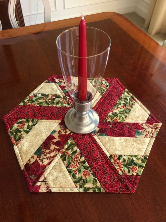 related image quilts patchwork table runner quilted Cool Quilted Table Topper Patterns Inspirations