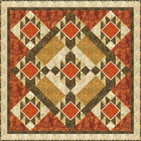 robert kaufman fabrics is a wholesale converter of quilting Cozy Southwest Serenity Quilt Pattern Gallery