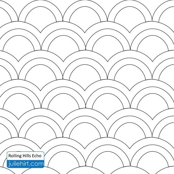 rolling hills longarm quilting digital pattern for edge to Stylish Statler Stitcher Quilting Patterns Inspirations