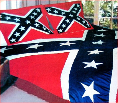 Permalink to Unique Confederate Flag Quilt