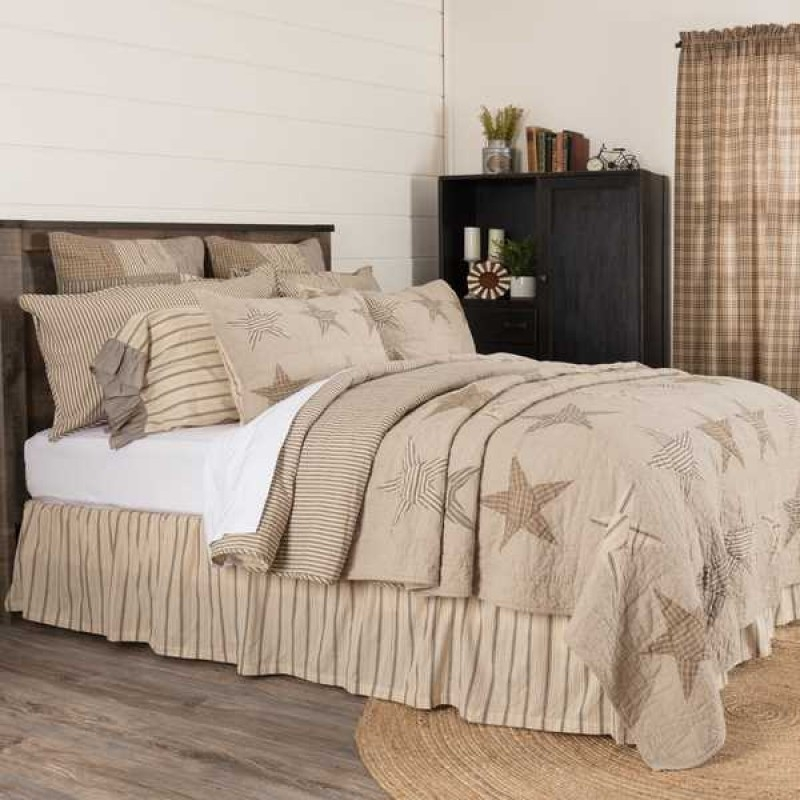 sawyer mill star charcoal luxury king size quilt Vintage King Size Quilts Inspirations