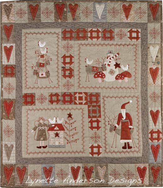scandinavian christmas quilts scandinavian quilts Modern Scandinavian Quilt Patterns Gallery