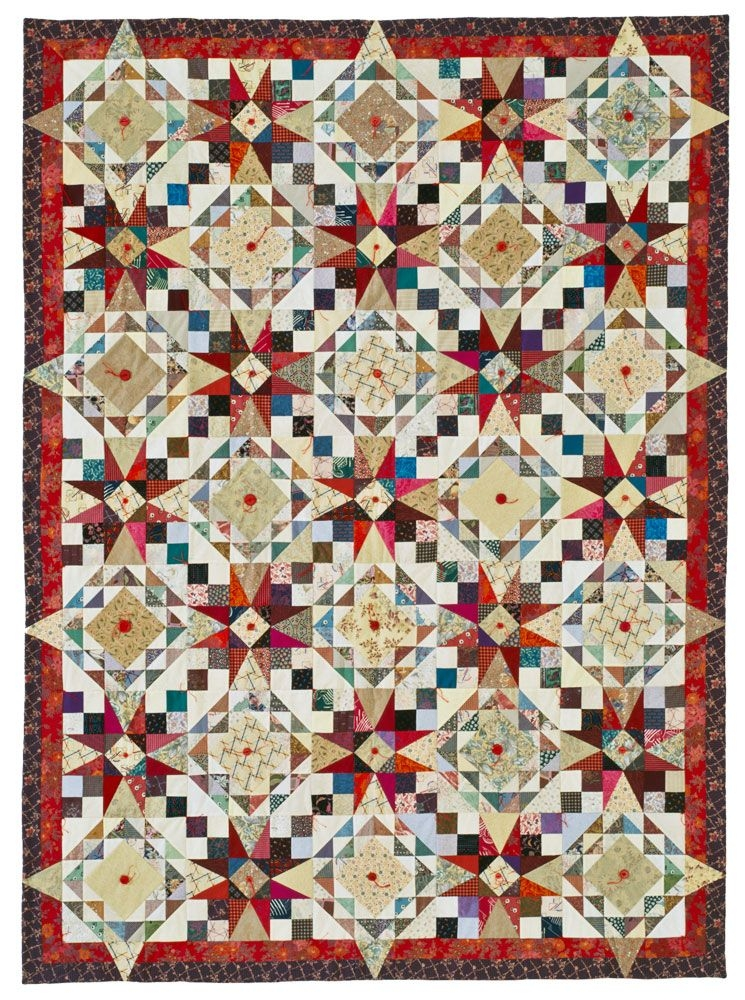 scrap showcase quilting pattern from the editors of american Stylish American Patchwork Quilting Patterns Gallery