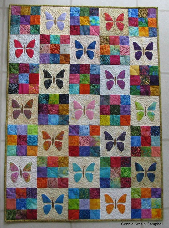 scrappy butterfly ba quilt tutorial ba quilt patterns Cozy Butterfly Quilt Block Pattern Inspirations