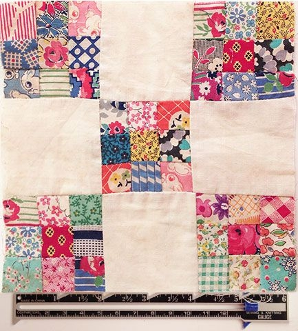 scrappy double nine patch quilts postage stamp nine Double Nine Patch Quilt Pattern Gallery