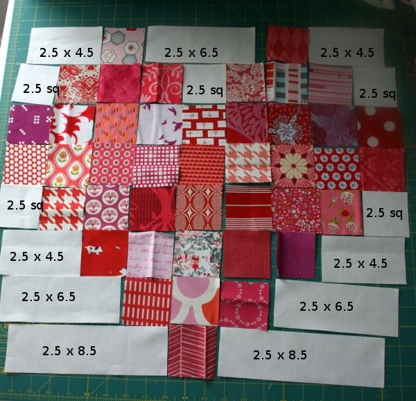 scrappy heart quilt free pattern and tutorial moda candy 4 Inch Quilt Block Patterns Inspirations