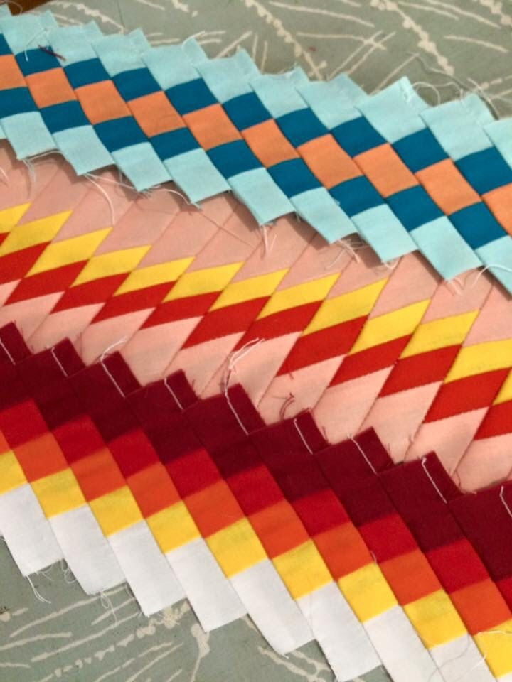 seminole indian patchwork strips made dueling thimbles Seminole Quilting Patterns Inspirations