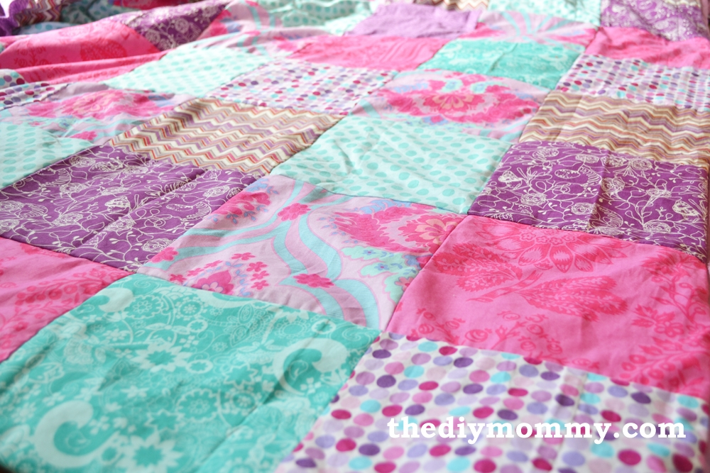 sew a patchwork duvet cover the diy mommy Elegant Quilted Duvet Cover Pattern Gallery