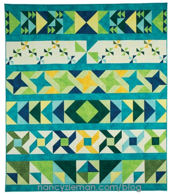 sew a row row quilt with help from nancy zieman nancy Row By Row Quilt Patterns Inspirations