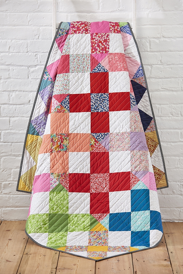 sew a stunner liberty crosses free quilt pattern lynne Elegant Patchwork And Quilting Patterns Gallery