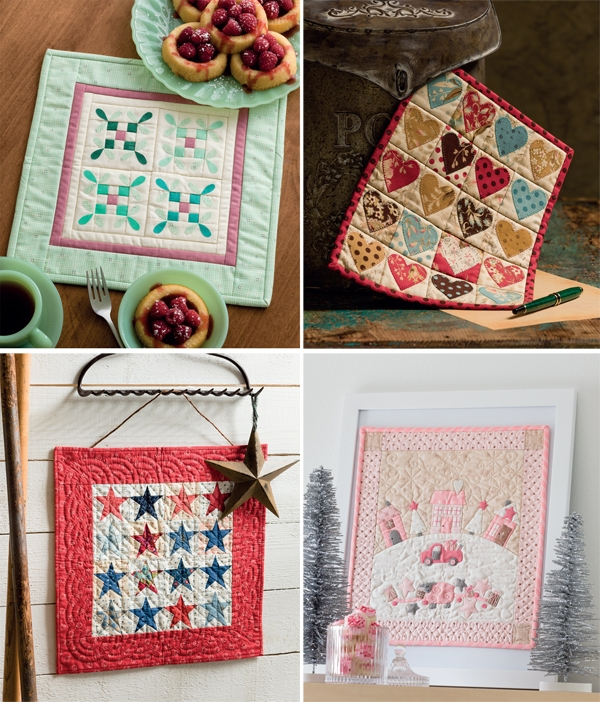 sew em small sew em all 6 mini quilt tips from moda Tips For Sewing Mini Quilts Gallery
