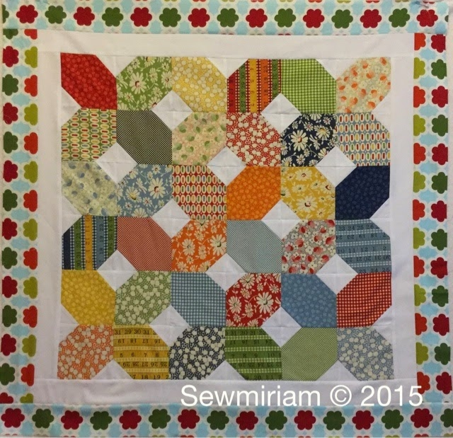 sew miriam free quilt tutorial part 2 Cozy 5 Inch Square Quilt Patterns Gallery