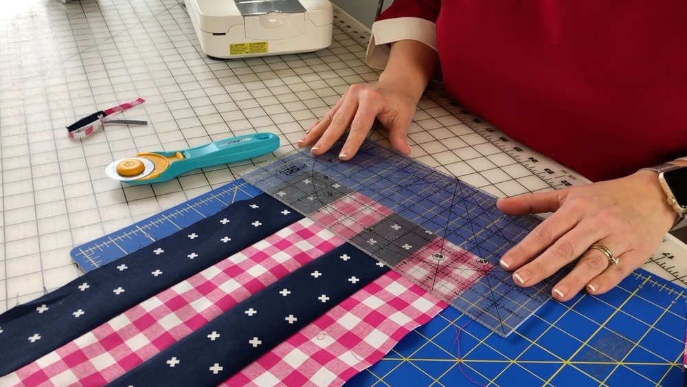 sew patchwork blocks with strip piecing how to video Cool Strip Piecing Quilt Patterns
