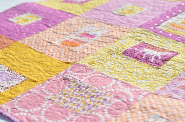sewcraftyjess completed quilt fairy tale frames ba quilt Cool Frames For Ba Baby Quilts Inspirations