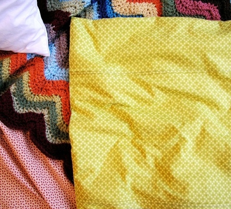 sewing 101 making a duvet cover designsponge Elegant Quilted Duvet Cover Pattern Gallery