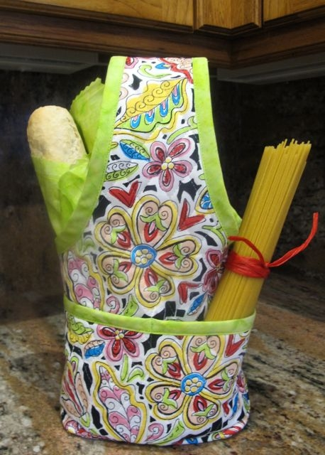 sewing with nancy zieman sew a quick hostess wine tote Stylish Sewing With Pre Quilted Fabric Inspirations