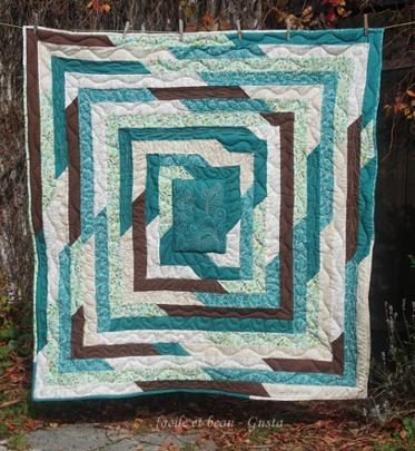 shattered frame quilt midnight quilt show bluprint Interesting Picture Frame Quilt Pattern Inspirations