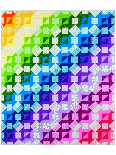 shout whisper text quilt pattern Modern Geometric Quilting Patterns Inspirations