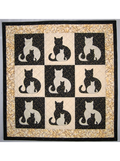 sidekick cat quilt pattern Cozy Cat Quilt Patterns Inspirations