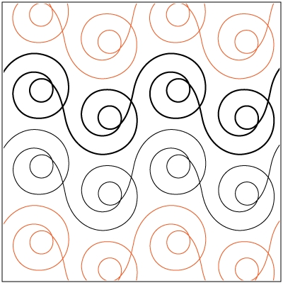 simple but effective machine quilting design raw edge Cool Quilting Design Patterns Gallery