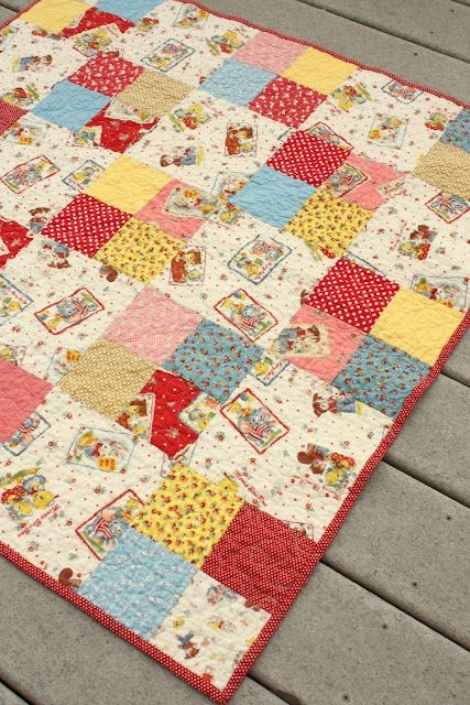 simple four patch ba quilt patch quilt quilt patterns Cozy Basic Patchwork Quilt Pattern Gallery