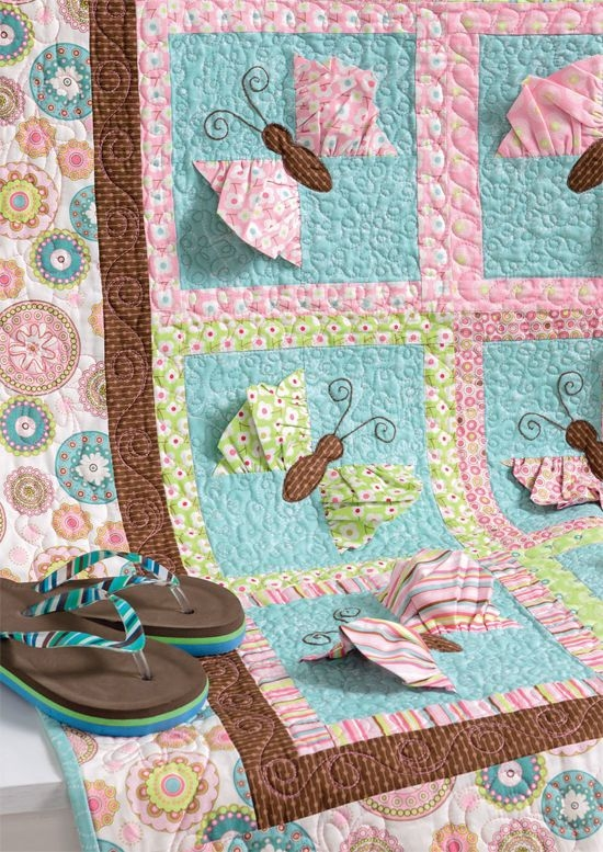 simple quilts for children and the cedar chest giveaway Interesting Butterfly Kisses Quilt Pattern