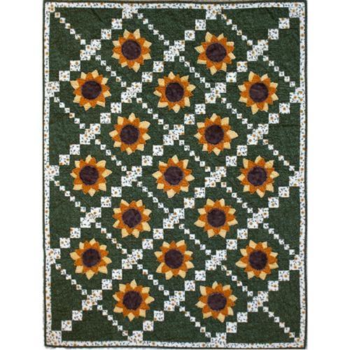 simply sunflower quilt pattern Unique Sunflower Quilt Patterns Inspirations