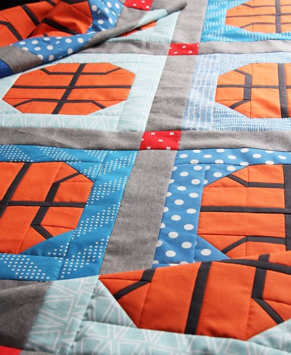slam dunk quilt baseball quilt patchwork quilt patterns Cool Basketball Quilt Pattern Gallery