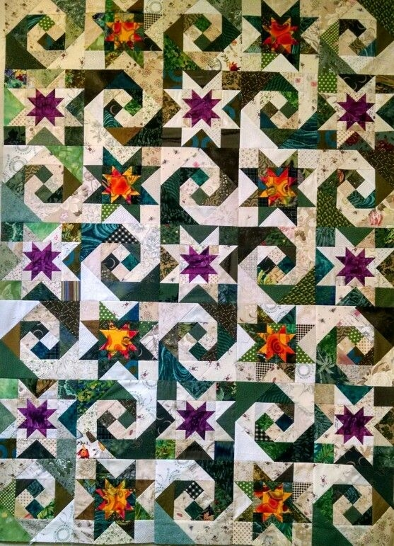 snail trail star quilt quilts star quilt patterns quilt Cool Snail Trail Quilt Pattern Inspirations