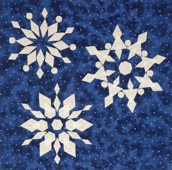 snowflakes quilt pattern on sale Cool Snowflake Quilting Pattern