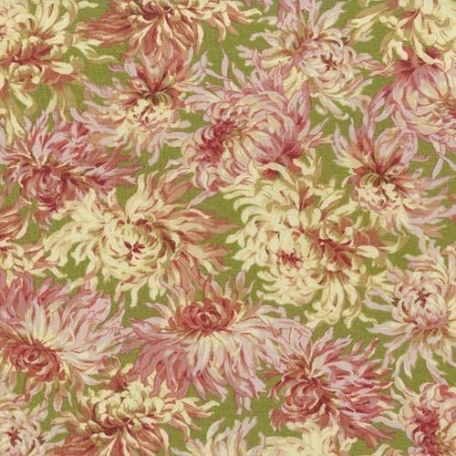 sophia chrysanthemum cotton quilt fabric the yard keepsake Elegant Elegant Keepsake Quilting Fabric