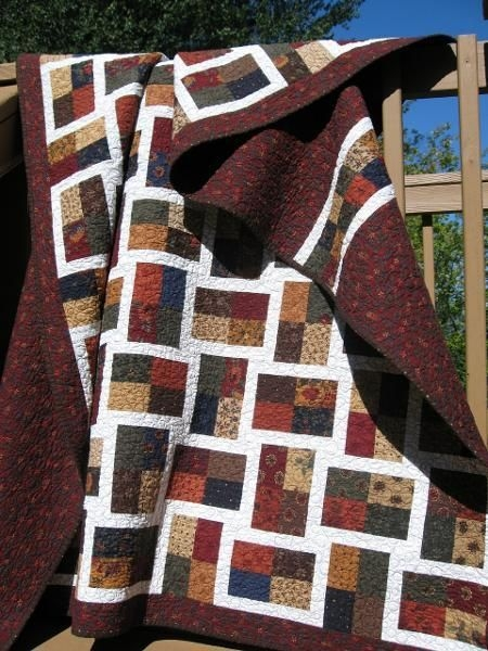 sparkling gemstone quilt made with a jelly roll or 2 12 Elegant Sparkling Gemstones Free Quilt Pattern Inspirations