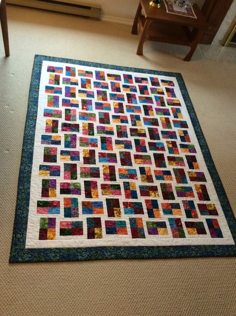 sparkling gemstones quilt from jelly roll quilts paperback Elegant Sparkling Gemstones Free Quilt Pattern Inspirations