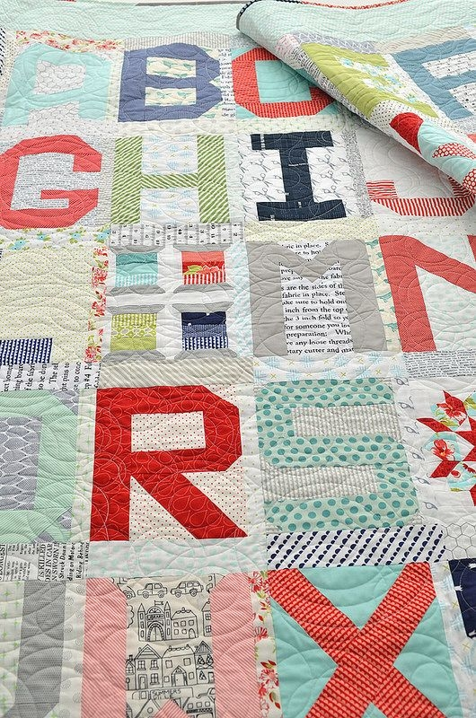 spell it with moda quilts alphabet quilt ba quilts Elegant Alphabet Quilt Block Pattern
