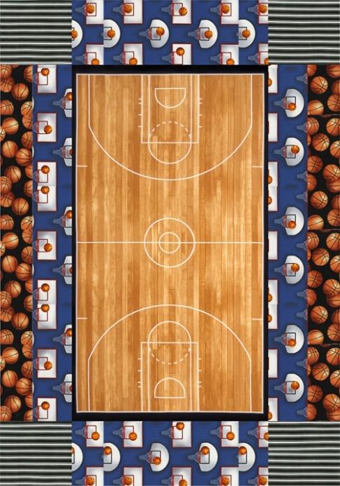 sports life quilts dunk free pattern robert kaufman fabric Cool Basketball Quilt Pattern Gallery