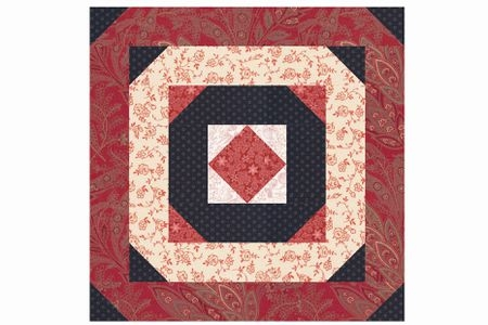 square in a square log cabin quilt block pattern Unique Log Cabin Square Quilt Inspirations