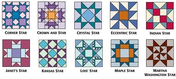 star quilt block patterns for an astronomical block 8 Inch Quilt Block Patterns