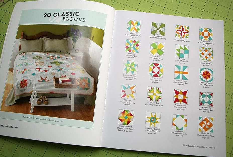 stardust quilt from vintage quilt revival freshly pieced Modern Vintage Quilt Revival