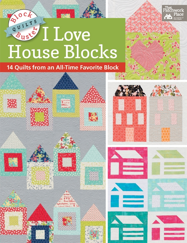 stitch this the martingale blog Unique Pretty Houses Quilt Book Inspirations