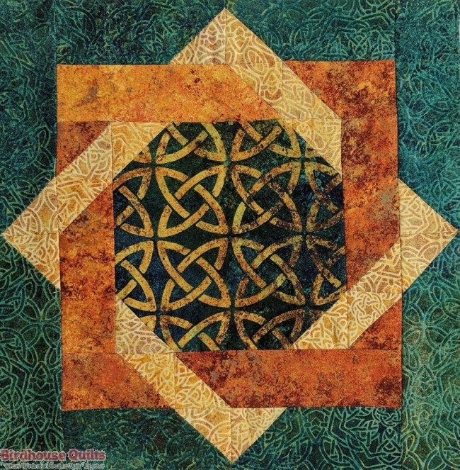 stonehenge solstice block party 12 x 12 Stylish Stonehenge Quilt Patterns