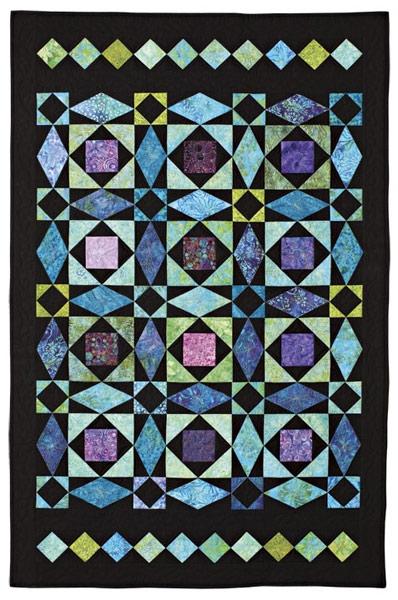 storm at sea eleanor burns signature patterns 735272012832 Elegant Stormy Seas Quilt Pattern