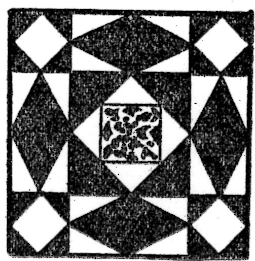 storm at sea quilt pattern 1932 kansas city star newspaper Elegant Stormy Seas Quilt Pattern