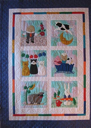 story quilts quilting gallery Interesting Nursery Rhyme Quilt Patterns Inspirations