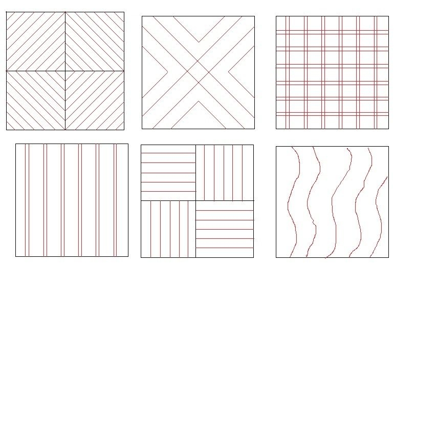 straight line quilting for carpenters star machine Straight Line Quilting Patterns Inspirations