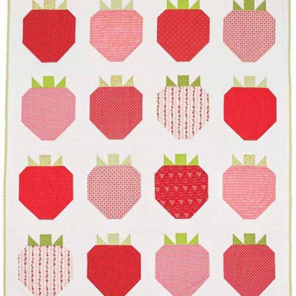 strawberry fields quilt pattern download Elegant Strawberry Quilt Pattern Inspirations