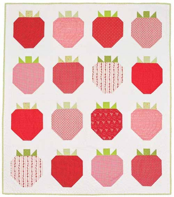 strawberry fields quilt pattern download Elegant Strawberry Quilt Pattern Inspirations