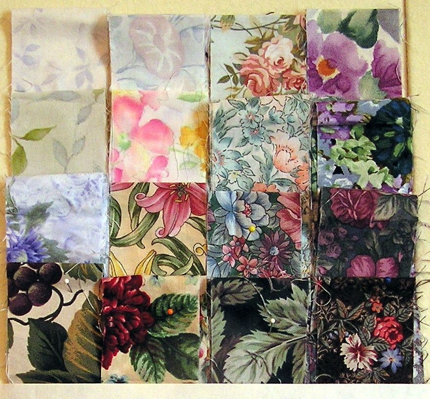 strip pieced watercolor tutorial part 1 free quilt Cozy Watercolor Quilt Patterns Gallery