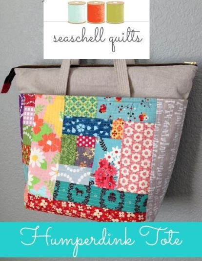 summer sewing 7 quilted tote bag patterns Stylish Quilted Bags And Totes Patterns