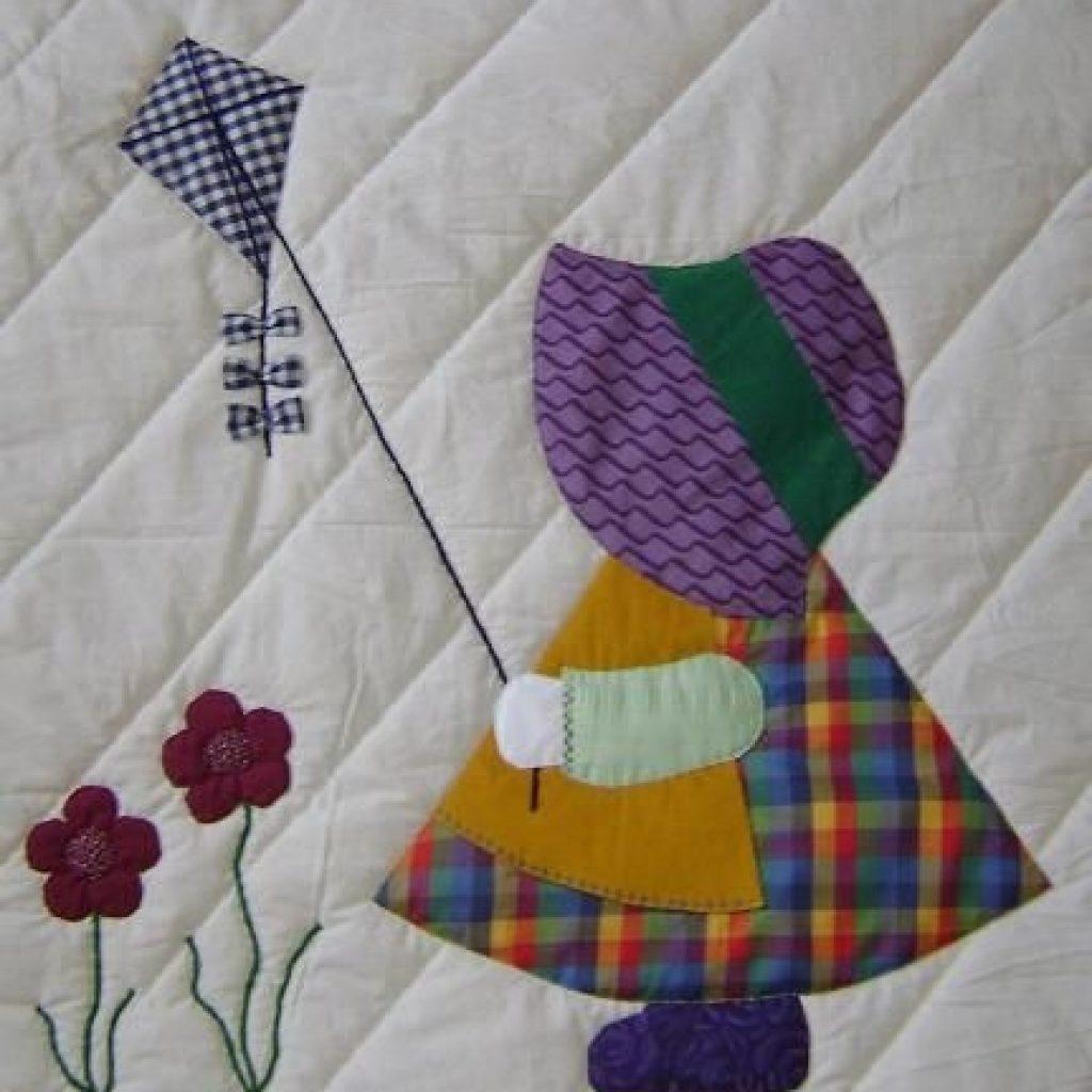 sun bonnet sue quilt patterns free sunbonnet sue evalyn Stylish Sunbonnet Quilt Patterns Free Inspirations